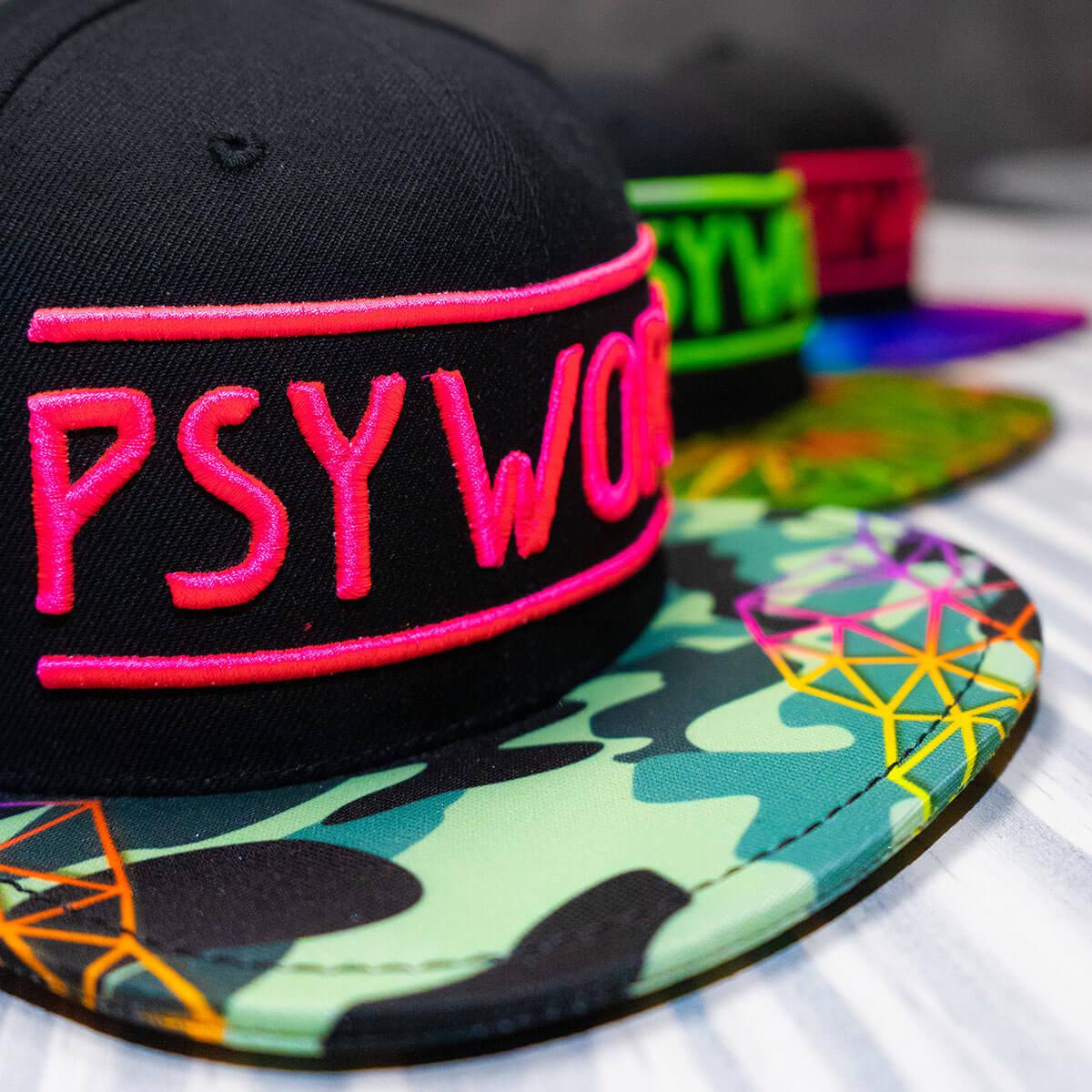 Psywork Neon Caps
