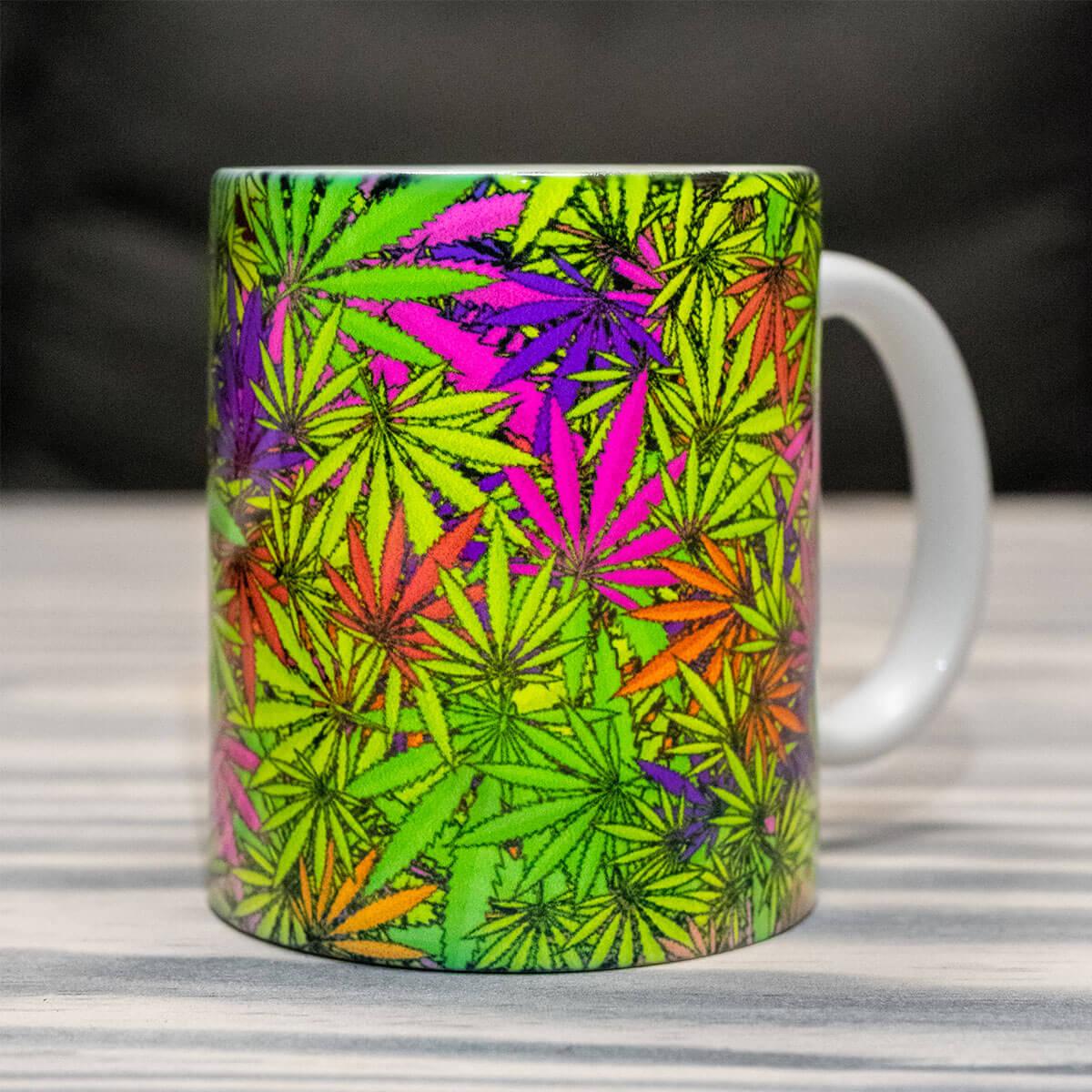 Psywork Neondruck Tasse